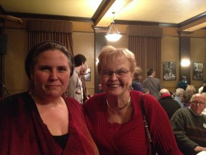 Tamara with former Oregon Governor Barbara Roberts, 12/8/2013