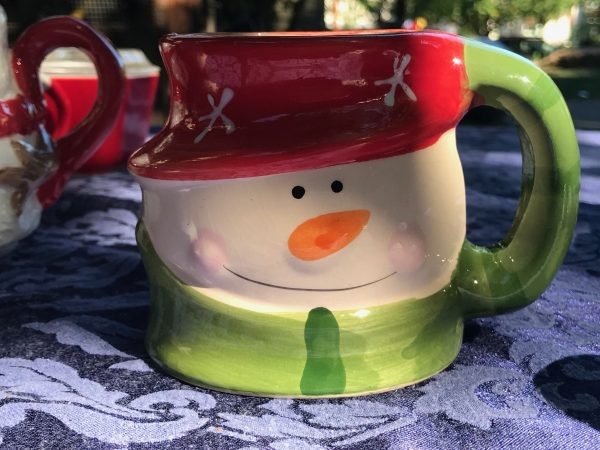 Royal Norfolk Ceramic Snowman Christmas Mug 1007 Ppm Lead