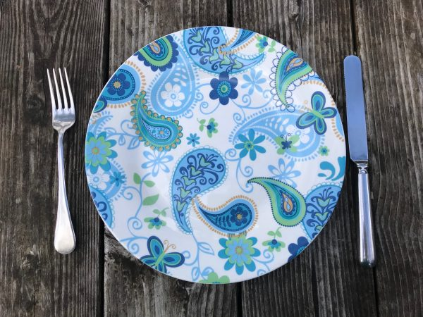 Spring 2019 Dollar Tree Royal Norfolk Paisley Dinner